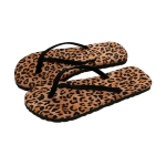 CSL103 Leopard Pattern Flip Flop